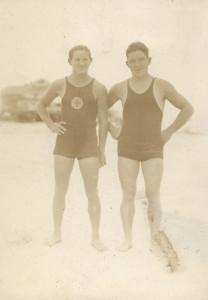 Ennis Robinson & Unknown lifeguard