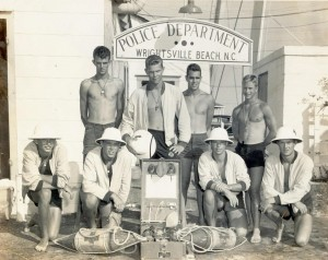 1953 Lifeguard team at Wrightsville Beach