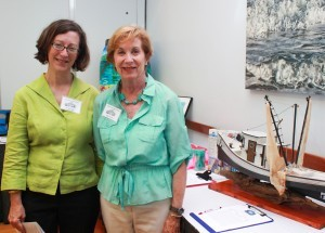 11 Madeline Flagler Wrightsville Beach History Museum Director with Maggie Aardema Wrightsville Beach History Museum Board Member